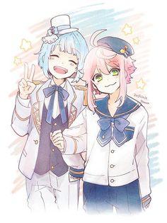 Hajime x Tori >< Gamers Anime, Anime Guys, Happy Tree Friends, Anime Art Girl, Manga Girl, Kawaii Art, Kawaii Anime, Anime Chibi, Anime Manga