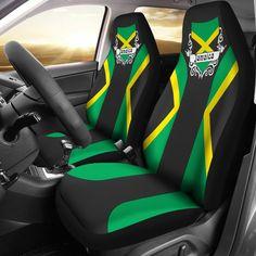 Jamaica Flag Car Seat Cover Love The World- Puma Shoes Women, New Car Accessories, Jamaica Flag, Art Area, Pumas Shoes, Fashion Company, Snug, Car Seats