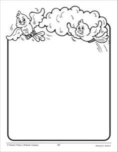 Plain paper to write on