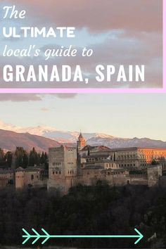 From free tapas to a visit to the Alhambra, getting lost in the Albaicin and finding the perfect view: the best things to see, do and experience in this detailed local's guide to Granada. Europe Destinations, Europe Travel Tips, European Travel, Slow Travel, Stunning Photography, Long Haul, Andalusia, France Travel, Granada