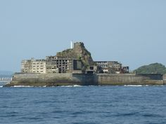 Hashima used to be owned by Mitubishi Corporation, which had been mining coal from this island for about 90 years. This island is located about 10 miles from Ohato pier. They have a guided tour, 30 minutes aboard one way and 30 minutes walking tour on the island.