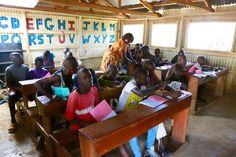 Classroom at HOVIC #lastingchange