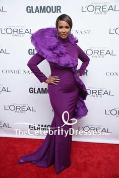 Iman Purple Mermaid