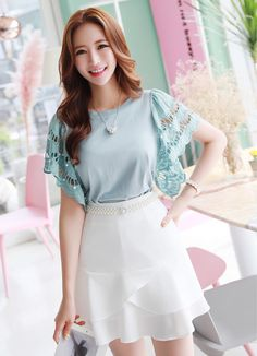 Korean Women`s Fashion Shopping Mall, Styleonme. Kim Seuk Hye, Fashion Models, Fashion Outfits, Asian Cute, Basic Outfits, Korea Fashion, Korean Women, Female Models, Pretty Woman