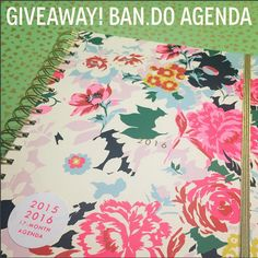 We are giving away one Ban.do's *sold out* 2015/2016 agenda's on our INSTAGRAM feed, just follow C&C there and like this image: https://instagram.com/crowandcanary