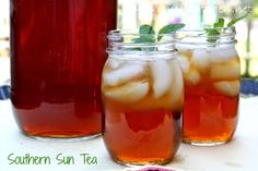 Mommy's Kitchen - Recipes From my Texas Kitchen!: Southern Sun Tea {My Favorite Summer Drink}