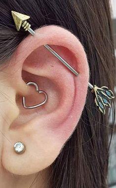 Daith Ear Piercing Ideas for Women Industry Arrow Barbell Scaffold Earrings . Heart Daith Ear Piercing Ideas for Women Industry Arrow Barbell Scaffold Earrings .,Heart Daith Ear Piercing Ideas for Women Industry Arrow Barbell Scaffold Earrings . Daith Ear Piercing, Piercing Snug, Ear Peircings, Cute Ear Piercings, Piercing Tattoo, Anti Tragus, Lip Piercings, Double Belly Piercing, Cartilage Earrings