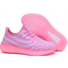 premium selection 2e5ff ccbcf Womens Adidas Yeezy Boost 550 Pink - Adidas Pink Adidas, Adidas Shoes,  Shoes Sneakers