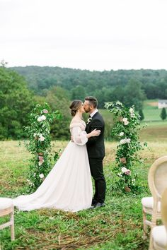 Romantic Spring Elopement Inspiration at the Ivy Rose Barn | Virginia Wedding Inspiration - ALAINA RONQUILLO PHOTOGRAPHY | Magnolia Rouge: Fine Art Wedding Blog | Romantic Wedding Photos | portraits | Wedding Ceremony Ivy Rose, Romantic Wedding Photos, Bride And Groom Pictures, Elopement Inspiration, Wedding Blog, Magnolia, Wedding Ceremony, Virginia, Barn