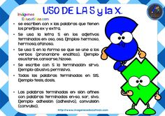 Reglas de ortografía básica para los niños - Imagenes Educativas Spanish, Homeschool, Language, Teaching, Education, Sayings, Tips, Homework, English Exercises