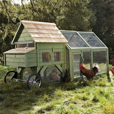 chicken coop on wheels More DIY Posts from DIY for Life Comments comments
