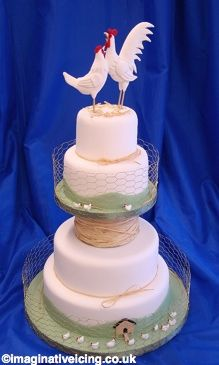 I always thought that a western themed wedding cake would be nice! BUT, I love this!!!!