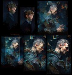 Steps on MisterW, Cedric Peyravernay on ArtStation at https://www.artstation.com/artwork/808355