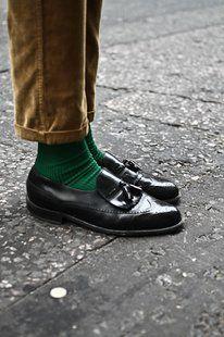 want green socks!