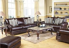 Shop for a Chapel Hill 7 Pc Living Room at Rooms To Go. Find Living Room Sets that will look great in your home and complement the rest of your furniture.