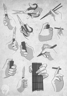 - Reference - Hands by Hagazusa.deviantart.com on @deviantART