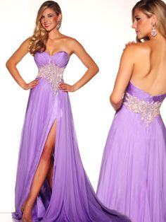 This soft silk Mac Duggal pageant dress 81638P