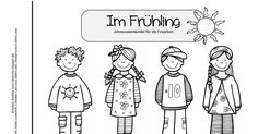 Freiarbeitsbündel_Frühling.pdf Body Banana, Teaching Profession, Flowers Today, Thing 1, Classroom Rules, School Fun, School Ideas, Classroom Management, Crowns