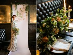 St Patrick's Day wedding inspiration at a pub - photo by Sarah Esther Photography http://ruffledblog.com/st-patricks-day-wedding-inspiration-at-a-pub