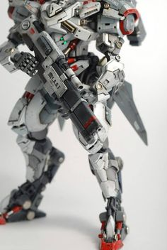 Custom Build: HG 1/144 Hyakuren Azee Custom