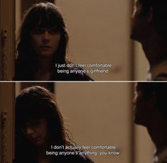 500 Days of Summer Stay away from people who are not willing to commit to your love, its better then getting disappointed later and… The Words, 500 Days Of Summer Quotes, Summer Romance Quotes, Citations Film, Sad Movies, Movie Lines, Film Quotes, Famous Movie Quotes, Quote Aesthetic