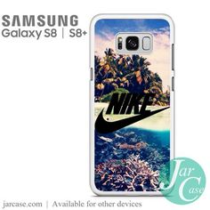 Nike in Beautiful Beach Phone Case for Samsung Galaxy S8 & S8 Plus