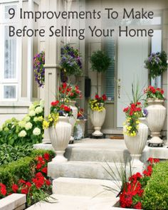 9 Home improvements to make before selling your home.