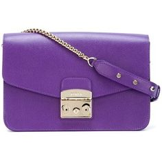Furla clasp shoulder bag