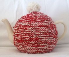 Tea Cosy Hand Knitted by Etsy seller angela