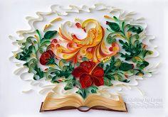 Digital item Original Paper Quilling Wall Art por QuillingbyLarisa