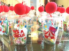 Palmer's Circus Party Favors!