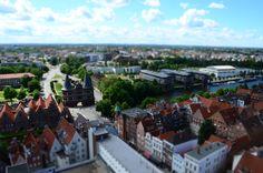 Blick vom Turm der Kirche St.Petri © FotoMarathon 2014