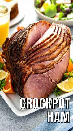 Crock Pot Food, Crock Pot Slow Cooker, Slow Cooker Recipes, Crockpot Recipes, Cooking Recipes, Recipes Using Ham, Pork Recipes, Great Recipes, Favorite Recipes