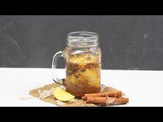 Como hacer agua de manzana y canela para perder peso. ¡Fácil y saludable!
