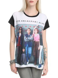 The Breakfast Club Lockers Girls Top