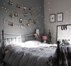 Some dreamy room inspiration served up by Lisa Dawson, featuring our dove grey linen! Cute Room Decor, Room Decor Bedroom, Bedroom Ideas, Dorm Room, Diy Bedroom, Girls Bedroom, Bedroom Furniture, Furniture Ideas, Master Bedroom