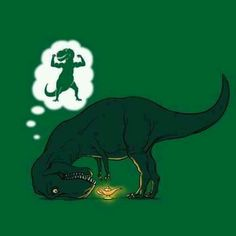 Maybe T Rex Will Get Lucky One Day