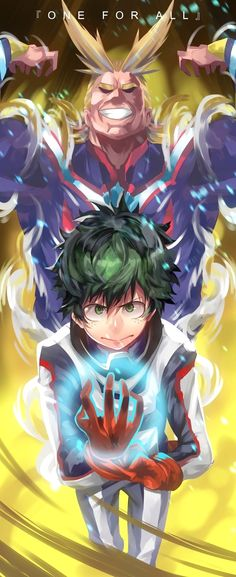 All Might and Deku Izuku Midoriya My Hero Academia Manga Anime, Anime Boys, Anime Art, Boku No Hero Academia, My Hero Academia Manga, Anime Angel, Fanart, Anime Cosplay, Hero Academia Characters