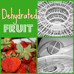 "dehydrated fruit how-to ... might be worth getting a dehydrator for! Easy ""fruit snacks"" and they last up to 6 months!"
