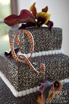 Fall colored cake to