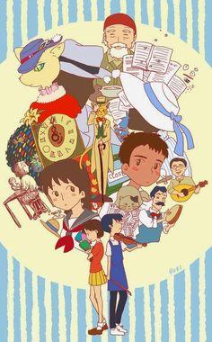 Fanart - Studio Ghibli, Whisper of the Heart