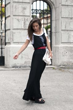 Black Style, Slip, Bandana, Ootd, Wedges, Street Style, Formal, Shirts, Beauty