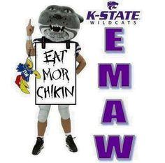 Eat more Chikin Hawks