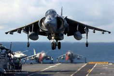A Harrier GR7 of 1 Squadron RAF took part in Deck Operations on-board HMS Illustrious. by Defence Images