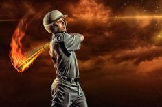 Sports Enhancement Session Baseball, Batter, Flames, Fire, Swing  Joshua Hanna Photography Cross Lanes, Charleston, Huntington, WV, West Virginia