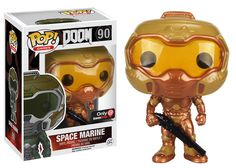 POP! Video Games: DOOM - Gold Space Marine - Only at GameStop for Collectibles | GameStop