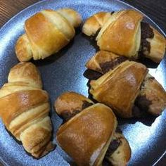 Vajas croissant | Varga Gábor (ApróSéf) receptje - Cookpad receptek Croissant, Pretzel Bites, Nutella, Bread, Recipes, Food, Brot, Recipies, Essen