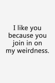 Weirdness <3