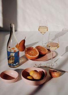 Fruit & wine spread.