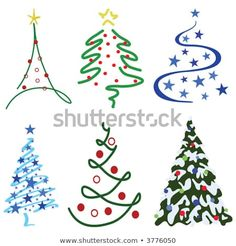 Kreativ Christmas Tree Design Set – Six tree designs in set Searching for a Marriage ceremony Gown D Christmas Doodles, Christmas Drawing, Diy Christmas Cards, Noel Christmas, All Things Christmas, Christmas Decorations, Christmas Ornaments, Vector Christmas, Christmas Tattoo